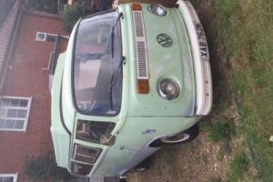 1973 VOLKSWAGEN Vw baywindow pop top camper