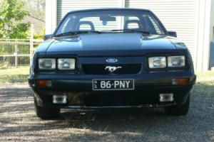 Mustang GT 5 0 1986 Black Hatchback in QLD