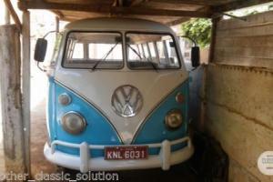 Volkswagen Type 2 T1 Splitscreen Project Bus 1973 - Deluxe Model