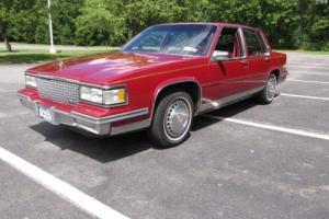 1987 Cadillac DeVille FWD
