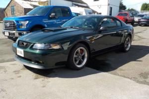 2001 FORD MUSTANG BULLITT 4.6 LITRE SUPERCHARGED MANUAL 80,739 MILES