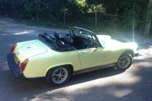 1977 MG MIDGET 1500 YELLOW