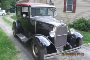 1930 Ford Model A 2 door sedan streetrod