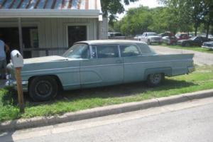 1960 Lincoln Continental 2 Door Hardtop
