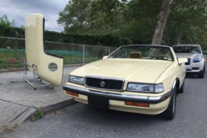 1989 Chrysler TC by Maserati Convertible