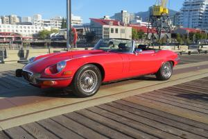 Jaguar: E-Type Roadster convertible