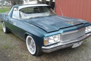 HJ Holden V8 Trimatic 1975 UTE Shepparton VIC Area in VIC