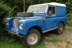1960 LAND ROVER SERIES II SWB 2.8 V6 FUEL INJECTION