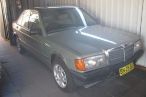 Mercedes Benz 190E in NSW