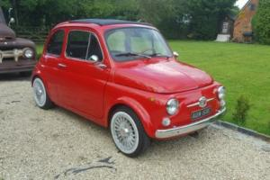 1967 FIAT 500 Great Condition. Brand new upgraded 650cc engine. lots of history