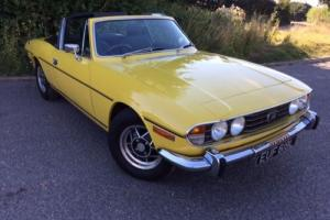 1972 TRIUMPH STAG 3.0V8 AUTO Hard/Soft Top, 12 MTHS MOT, Great Condition £10750