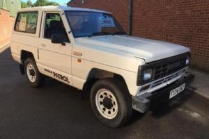 Nissan Patrol 2.8 SWB PETROL 1988 90000 MILES