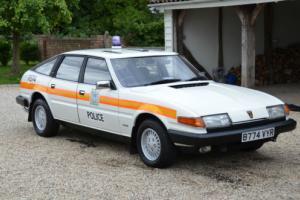 Classic 1984 Rover SD1 2600 Automatic Metropolitan Police Area Car