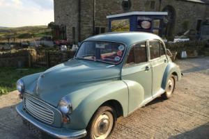 1969 MORRIS MINOR 1000 SALOON 4 DOOR SUPER EXAMPLE USED BY TV COMPANIES