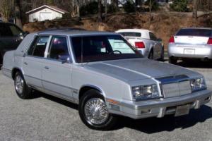 1987 Chrysler NEW Yorker Turbo