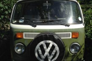 1973 VW camper T2 Westfalia Continental