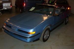 1987 Pontiac Sunbird SE Convertab Photo
