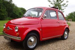 Fiat 500 F -round speedo model -Restored condition