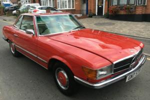 1973 MERCEDES-BENZ 450SL CONVERTIBLE HPI CLEAR VERY GOOD CONDITION
