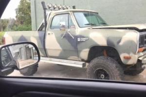 1984 Dodge Ram 1500 1/2 Ton