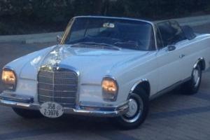 1962 Mercedes-Benz 200-Series Cabriolet