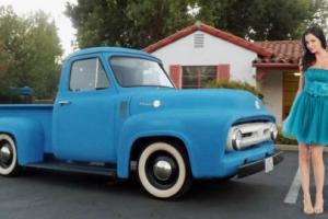 1955 Ford F-100 Daiy Driver Pickup w/ Rebuilt Motor No Reserve!!! Photo