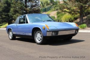 1972 Porsche 914 Porsche 914 1.7 Targa Gemini Blue