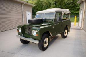 1970 Land Rover Defender - Series 2A Convertible DIESEL Photo