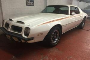 1974 PONTIAC FIREBIRD FORMULA 400. 6.6L V8. SUPERB RUST FREE CALIFORNIA SURVIVOR