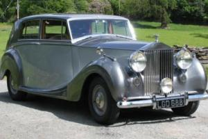1950 ROLLS ROYCE SILVER WRAITH RARE CAR Photo