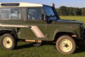 Barn Find 1989 Land Rover 90 4C County D Turbo Low Mileage Snorkel Winch