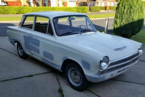 CORTINA MK1 2 door easy project +many expensive spares look