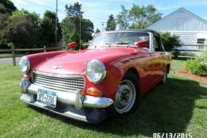 1969 Austin Healey Sprite British Sports Car