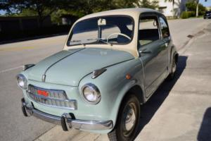 1957 Fiat 500 FIAT 600 Collector's SEE VIDEO