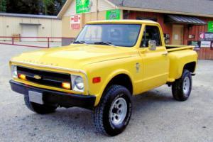 1968 Chevrolet C/K Pickup 1500 C/K 1500 SILVERADO PICKUP SWB TRUCK C-10 4X4 Photo