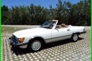 1987 Mercedes-Benz 500-Series 2 Dr Convertible