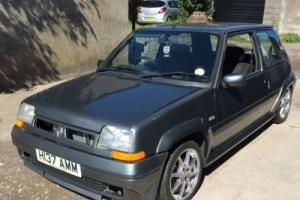 RENUALT 5 GT TURBO PROJECT 12 MONTHS MOT GREY Photo