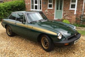 1975 MG B GT GREEN