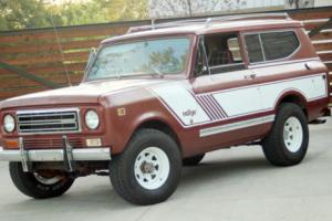 1979 International Harvester Scout Scout II Photo