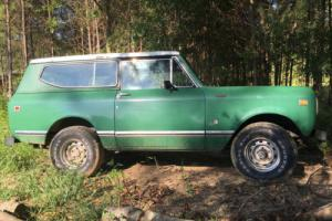 1980 International Harvester Scout SU