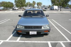 1986 Peugeot 505