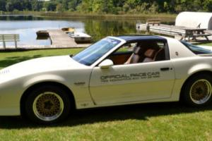 1989 Pontiac Trans Am Official Pace Car 73rd Indy 500 May 28, 1989