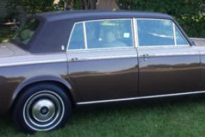 1979 Rolls-Royce silver wraith ll long wheel base