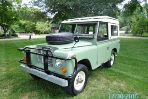 """1972 Land Rover Land Rover Series 3 III Series 3 88"""" Wheelbase"""