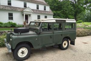 1962 Land Rover Series IIA Station Wagon