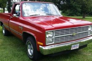 1983 Chevrolet C-10