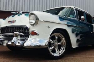 Stunning 1955 Chevrolet Belair Trophy Winning Custom Streetrod,Classic American
