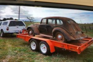 Rare Barn Find 1936 Hillman Sedan in TAS