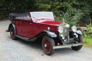 1935 Rolls-Royce 20/25 4dr Martin Walter Cabriolet GED67