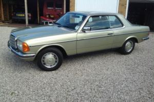 1982 MERCEDES 280 CE ,80K miles, Full service history